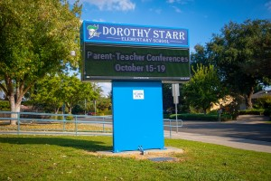School Sign Dorothy Starr
