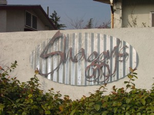Architectural Shaggys Wall Sign