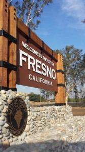 City Of Fresno Monument