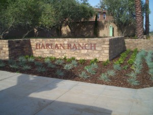 Housing Development Harlan Ranch Dimensional Letter