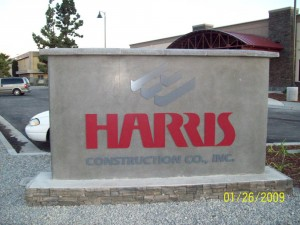 Miscellaneous Harris Construction Monument