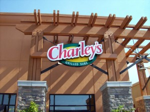 Restaurant Charley's Contour Cabinet