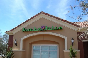 Restaurant Jamba Juice Channel Letter