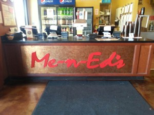 Restaurant Me n Ed's Interior Impact Logo